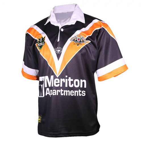 Wests Tigers 2000 Men's Retro Heritage Rugby Jersey