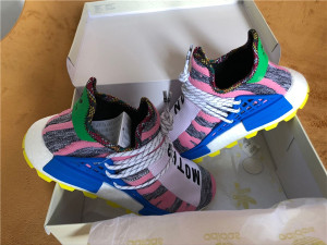 "Authentic Pharrell x AD NMD Hu ""Solar Pack"" MOTH3R"