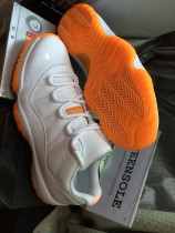 Authentic air jordan 11  citrus