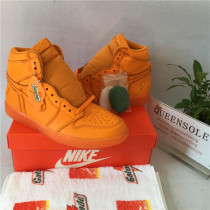 Authentic Air Jordan 1 Gatorade orange