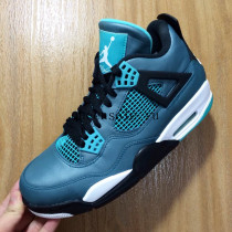 Authentic Air Jordan 4 Teal 2015
