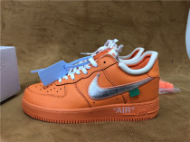 Authentic OFF-WHITE x Air Force 1 Orange