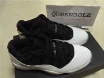 Authentic Jordan 11 Low - Black / White