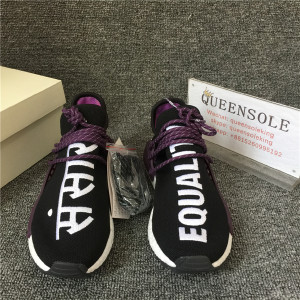 "Authentic Pharrell  NMD Hu Trail ""Equality"" Holi"