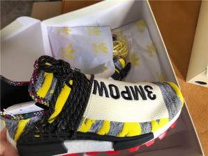 "Authentic Pharrell x AD NMD Hu ""Solar Pack""  3MPOW3R"