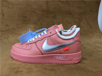 Authentic OFF-WHITE x Air Force 1 Coral