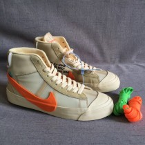 "Authentic OFF-WHITE x Nike Blazer Mid ""All Hallow's Eve"""