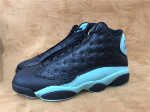 Authentic Air Jordan 13  Island Green