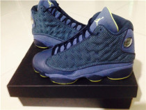 Authentic Air Jordan 13 Retro Squadron Blue