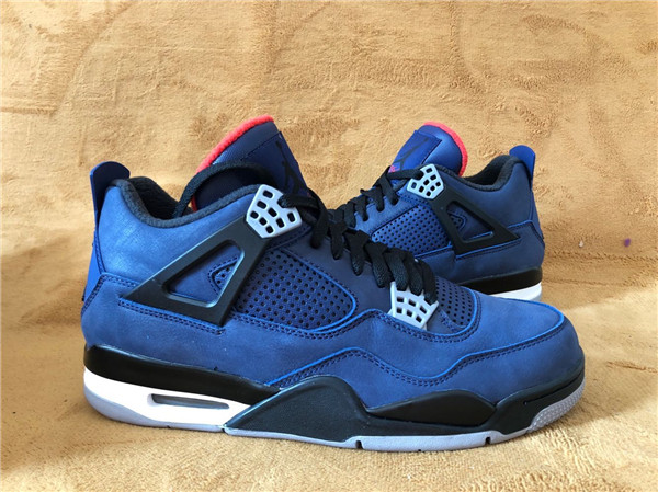 "Authentic Air Jordan 4 WNTR ""Loyal Blue"""