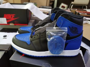 Authentic Air Jordan 1   Royal Blue