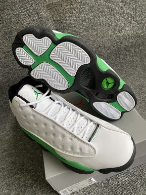 Authentic Air Jordan 13 Green