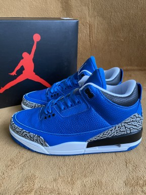 Authentic Air Jordan 3  UNC