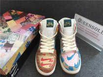 "Authentic Nike SB ""What The"" Dunk High"