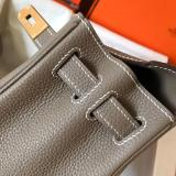 real shot hermes plain  kelly28 replica hangbag Togo leather pure hand-made stiching lightweight multicolor for option