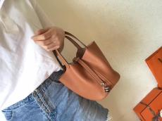 Hermes picotin18/22 lock replica shoulder bag handbag aureate hardware in soft Togo leather pure hand-made wax-thread stiching