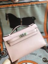 high quallity hermes mini kelly20 replica crossbody handbag in swift leather aureate hardware