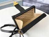 perfect replica lV elegant petite malle crossbody phonebag makeup bag  in shiny patent leather aureate hardware