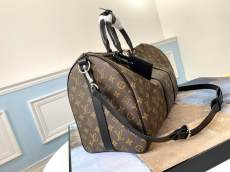 real shot M40569 Louis Vuitton/LV keeppal45 monogram travelling tote bag large multi-purpose lightweight