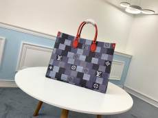 M44576 Louis Vuitton/LV damier canvas casual travelling shopping bag large-capacity tote bag