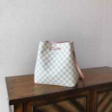 M43430 Louis Vuitton/LV neonoe damier canvas simplicity drawstring bucket bag crossbody shoulder bag
