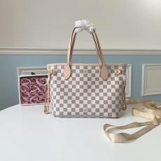 M41362 Louis Vuitton/LV damier canvas shopping tote bag