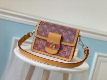 M55456 Louis Vuitton/LV monogram trunk clutch compack vintage suitcase stylish crossbody shoulder bag for fashionable personality