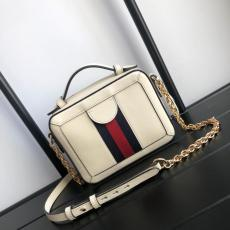 Gucci ophidia female color contrast zipper portable camera bag with removable and adjustable leather shoulder strap