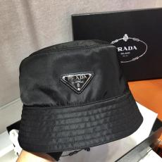 Prada female nylon colorful waterproof sun-proof sun hat elegant summer outfits gorgeous street wear