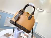 M40302 louis Vuitton/LV female casual mixed-material portable shoulder crossbody bag superb girlfriend birthday gift