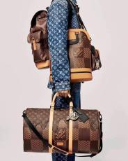 M40360 Louis Vuitton/LV male keepall practical outdoor travelling bag exceptional mountaineering outfit
