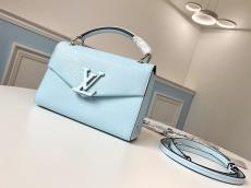M55981 Louis Vuitton/LV female pure-color scratch-proof portable messenger bag with magnetic fastener