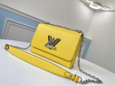 M56119 Louis Vuitton/LV female plain twist-lock sling chain crossbody shoulder bag wonderful birthday gift for lover and intimate