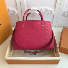 M41048 Louis Vuitton/LV ladies monogram-embossed three-compartment shoping tote bag expressive street companion