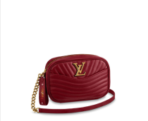 Louis Vuitton Monogram Empreinte New Wave Camera Bag Red M55330
