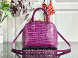 Louis Vuitton Monogram Empreinte Alma BB Handbag Purple Bag N93083