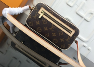 Louis Vuitton Monogram Canvas Small Medieval Shoulder Bag M51183