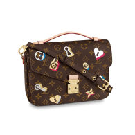 Louis Vuitton Monogram Canvas Pochette Métis Message Bag M44366