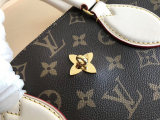 Louis Vuitton Monogram  Canvas Flower Zipped Tote PM Handbag M44359