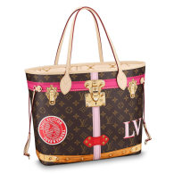 Louis Vuitton Monogram Canvas Neverfull MM Tote Bag M41390
