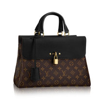 Louis Vuitton Monogram Canvas Venus Shoulder bag Black Handbag Bags M41737