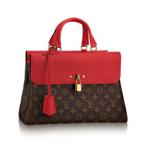 Louis Vuitton Monogram Canvas Venus Shoulder bag Red Handbag Bags M41738