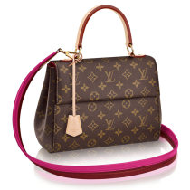 Louis Vuitton Monogram Canvas Cluny BB Shoulder Bag M42738