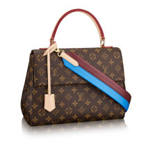 Louis Vuitton Monogram Canvas Cluny MM Shoulder Bag M42735