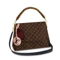 Louis Vuitton Monogram Canvas Beaubourg MM Ribbon Woven Tote Bag M43953