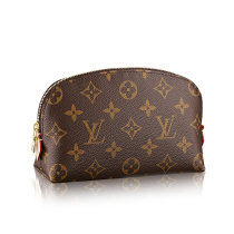 Louis Vuitton Monogram Canvas Cosmetic Pouch Coin Purse Handbag M47515