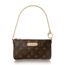 Louis Vuitton Monogram Canvas Pochette Milla Dinner Bag M60094