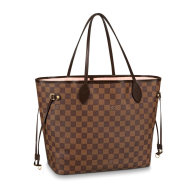 Louis Vuitton Damier Ebene Canvas Neverfull MM Tote Bag N41603