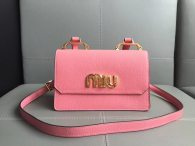 MIU MIU Women's Bag Shoulder Bag Crossbody Bag Pink