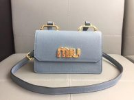 MIU MIU Women's Bag Shoulder Bag Crossbody Bag Light Blue